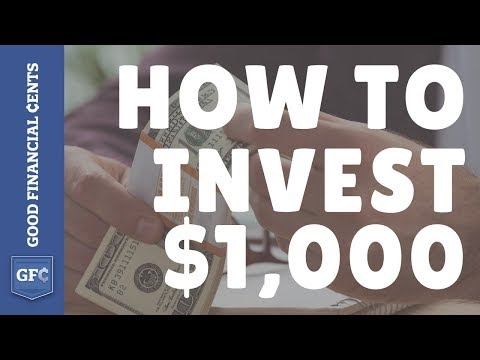 How to Invest $1,000 for 2018 ? (Invest $1,000 and grow it to $1 Million)