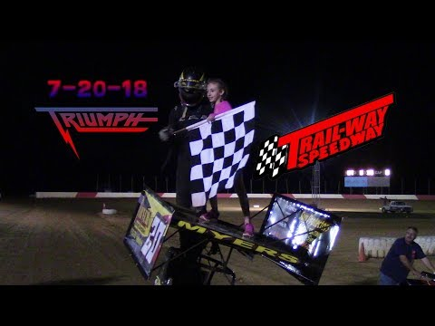 Trail-Way Speedway Highlights 7-20-18