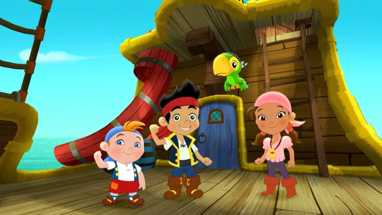 Disney Junior - Jake e os Piratas da Terra do Nunca - YouTube