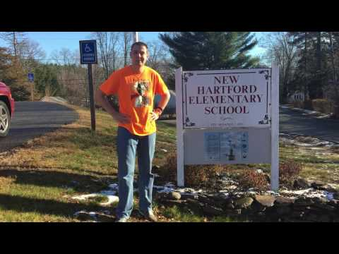 Mr. Peace Visits New Hartford Elementary School In New Hartford, Connecticut