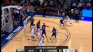 #3--Shamir Davis (NSU vs SFA--SLC Championship Game)