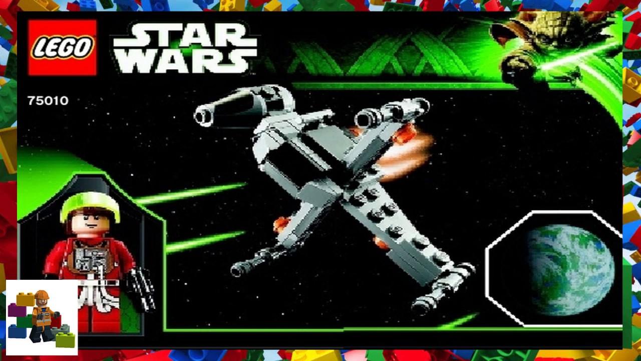 Lego Instructions Star Wars 75010 B Wing Starfighter Planet