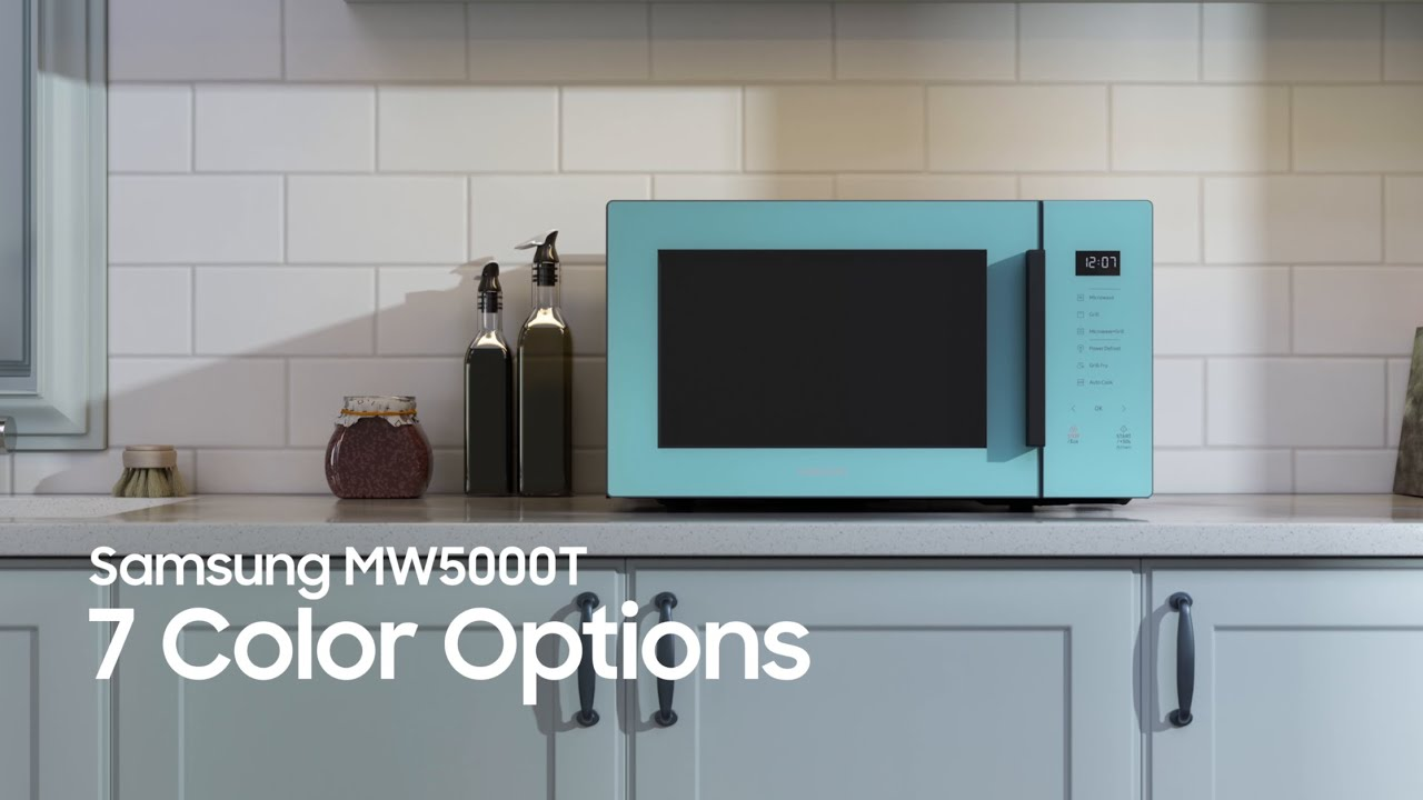 Samsung Microwave Oven Color Options