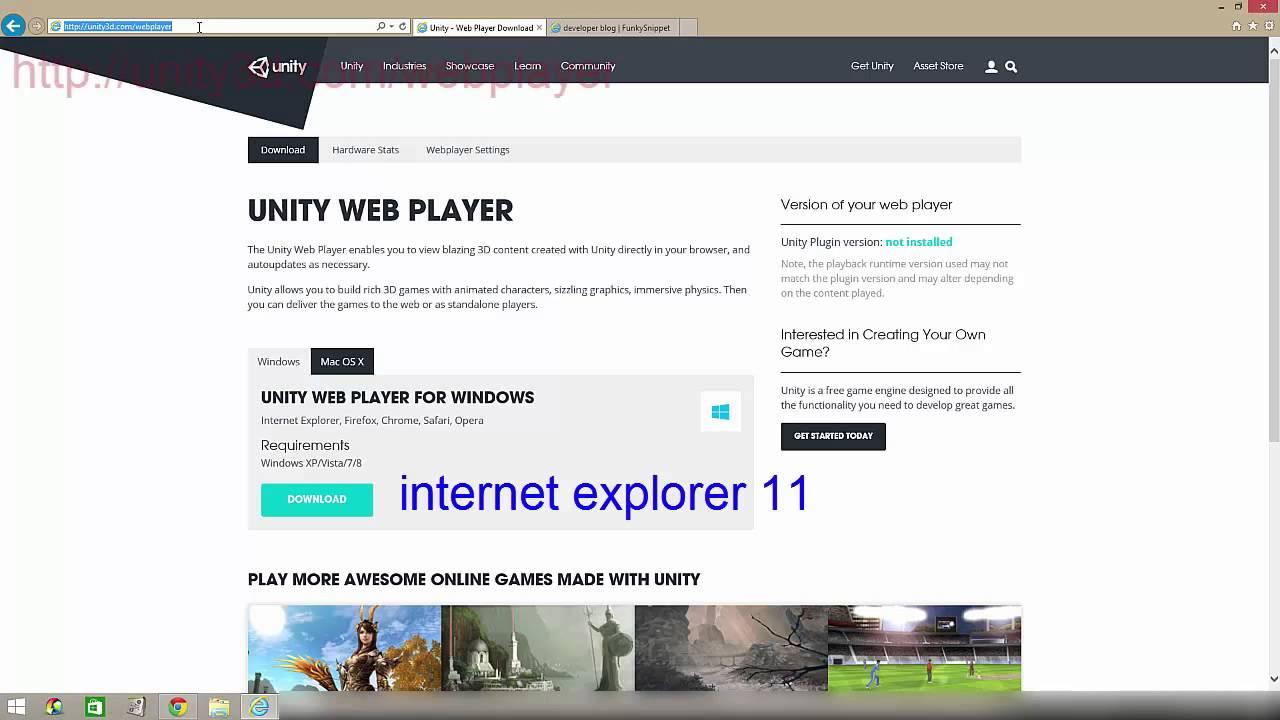 Скачать unity webgl player