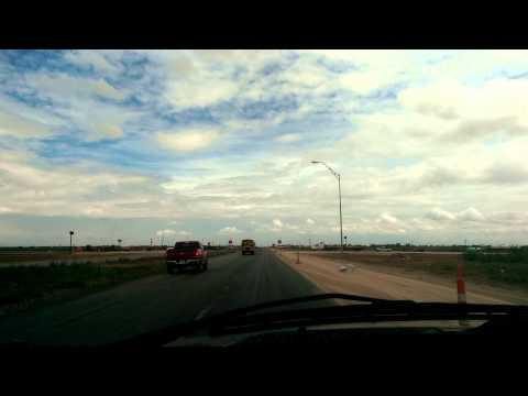 Driving into Odessa, Texas (2014)