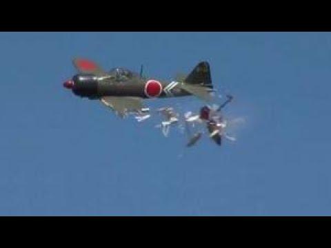 rc plane crashes FUNNY!