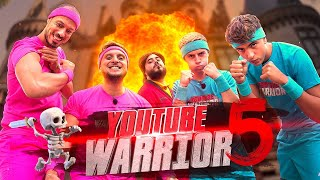 Youtube Warrior 5 vs Michou et Inoxtag feat Doigby
