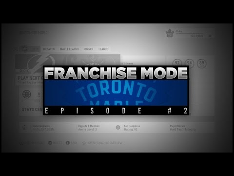 NHL17 Toronto Maple Leafs Franchise Mode #2