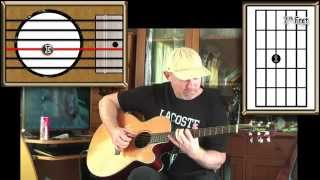 Vera - Pink Floyd - Acoustic Guitar Lesson (Drop D Tuning - easy-ish)