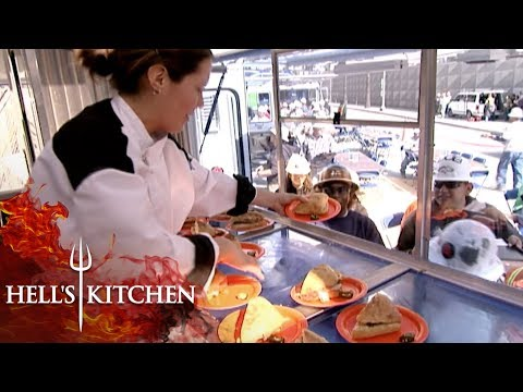 Chefs Try To Cook For Construction Workers | Hell's Kitchen