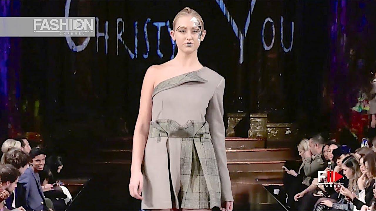 CHRISTY + YOU NYFW Art Hearts Fashion Fall 2018/2019 - Fashion Channel