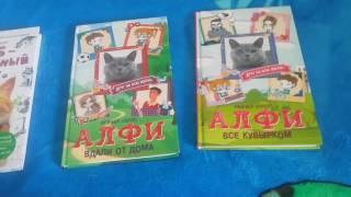Обзор книг #1: Алфи и Боб-необычный кот