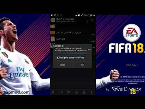 How To Download Fifa 14 Mod Fifa 18 (Update Players , Kits And Transfers)