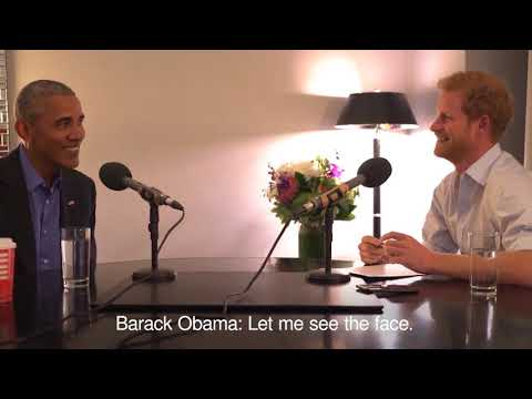Prince Harry interviews Barack Obama for Today programme