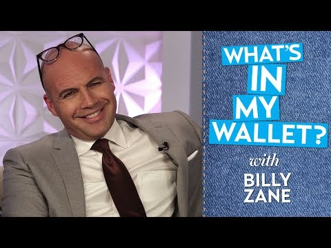 Billy Zane, an International Man of Mystery: What's in His Wallet?