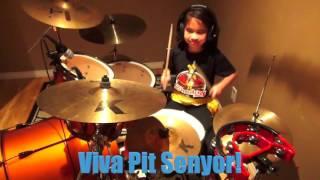 Sinulog 2016 - Sr. Sto. Niño - Viva Pit Senyor - Dance Steps And Drum Cover