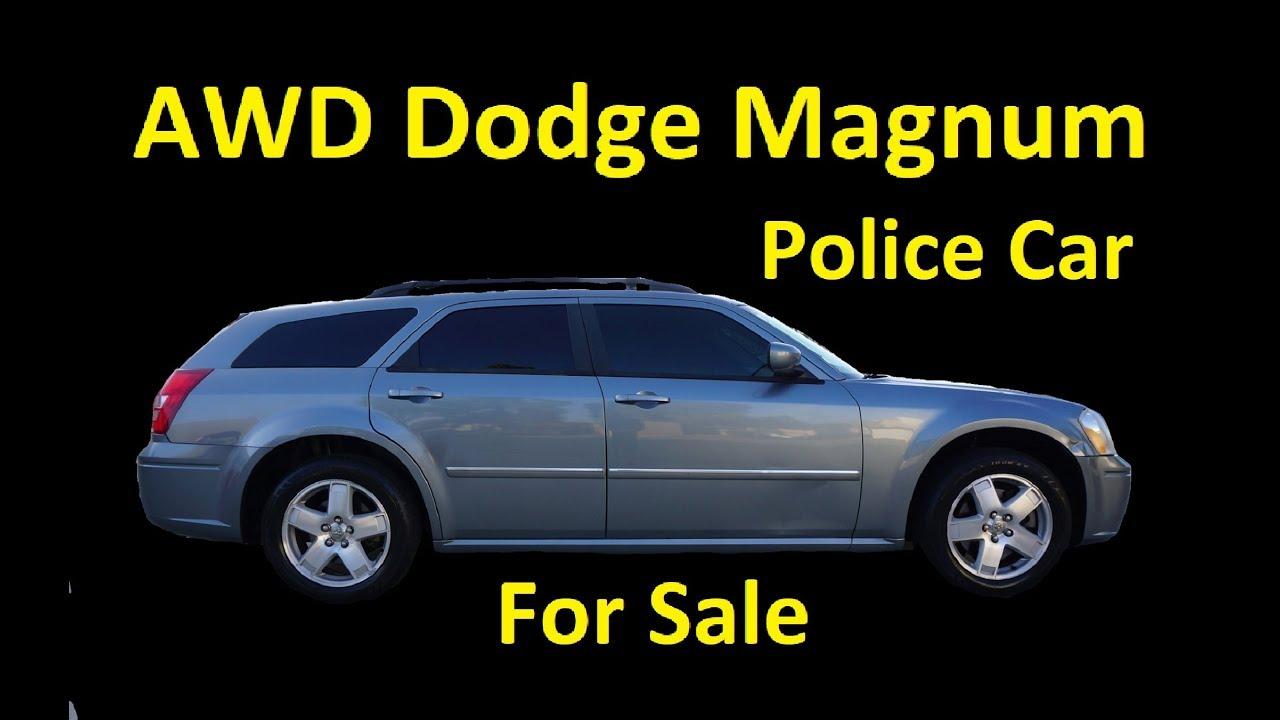 Police Edition Mopar Station Wagon Dodge Magnum Interior Video