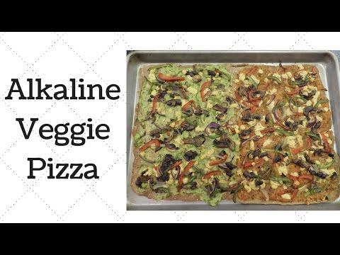 Veggie Pizza Alkaline Electric Recipe