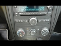How to replace a radio in a 2006 hhr