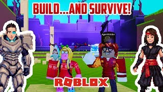 Roblox: WE MUST BUILD AND SURVIVE! ALIENS!