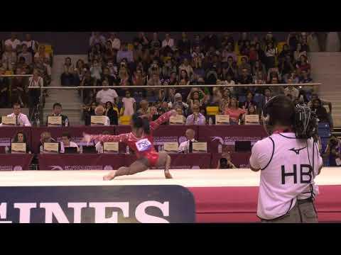 Simone Biles - Floor Exercise - 2018 World Championships - Events Finals