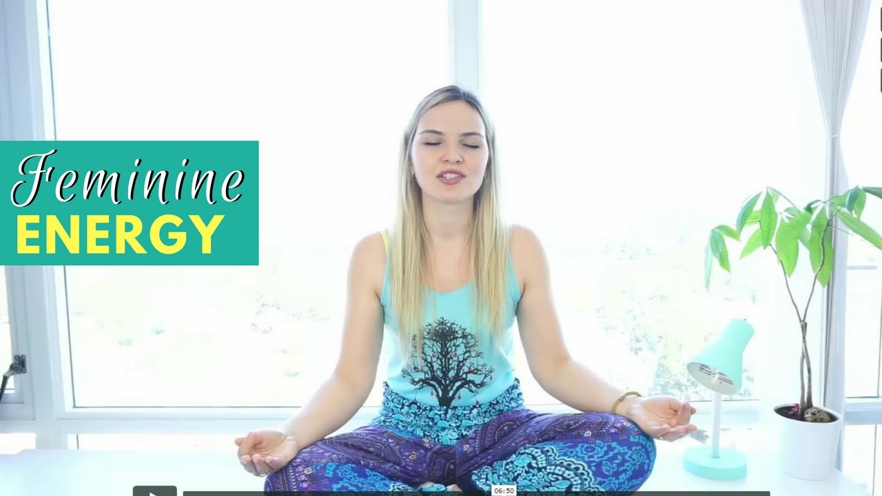 Feminine Energy & Self-love Meditation - YouTube