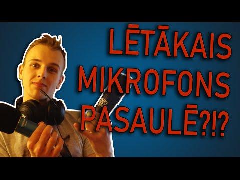 Lētākais mikrofons pasaulē?!?
