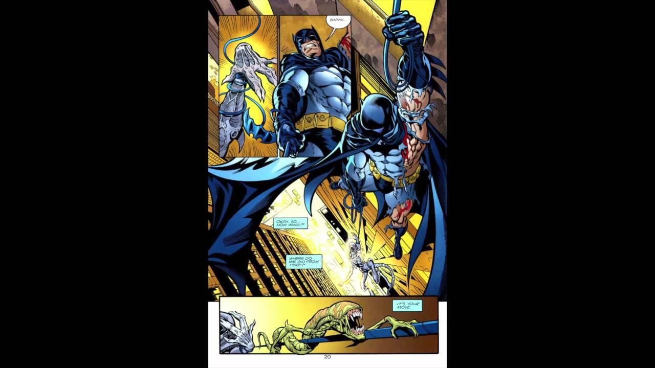 batman vs alien by - photo #22
