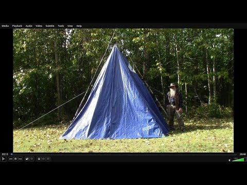 Make A Range Tent Style Hot Tent On The Cheap
