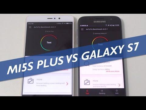 Xiaomi Mi 5S Plus Vs Samsung Galaxy S7 Speed Test