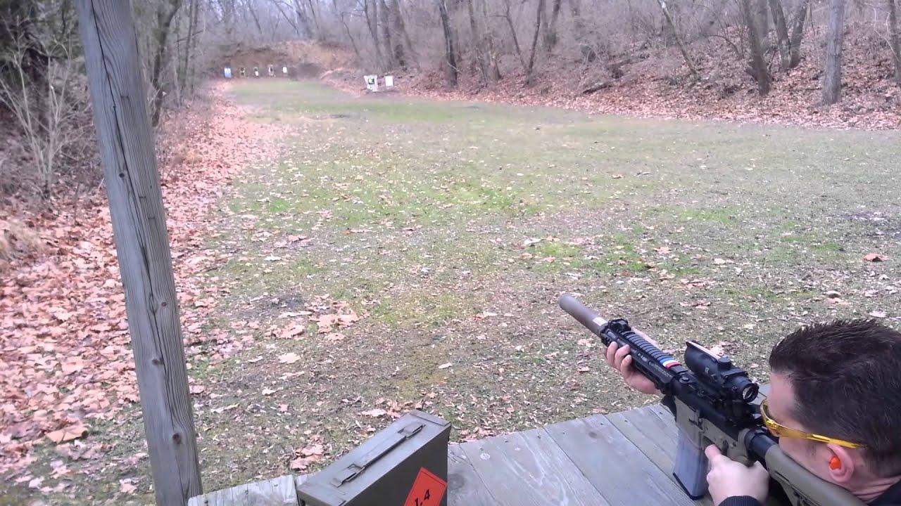 Homemade Suppressor; 300 Blackout Ammo Comparison - YouTube