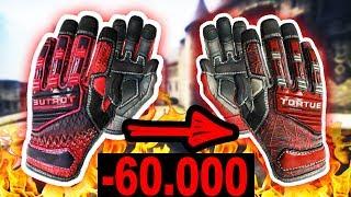 КАК Я ПОТЕРЯЛ 60 000 РУБЛЕЙ НА ОБМЕНЕ ПЕРЧАТОК В CS:GO! САМЫЙ ЖЁСТКИЙ РАЗВОД НА 1000$ В КС ГО!
