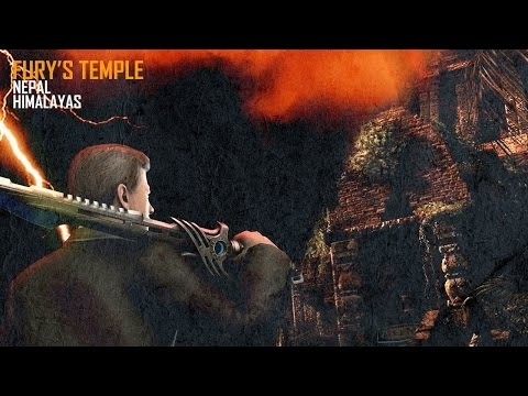 FURY'S TEMPLE ZOMBIES MOD! BO1 Shangri-La Time Trials Gameplay