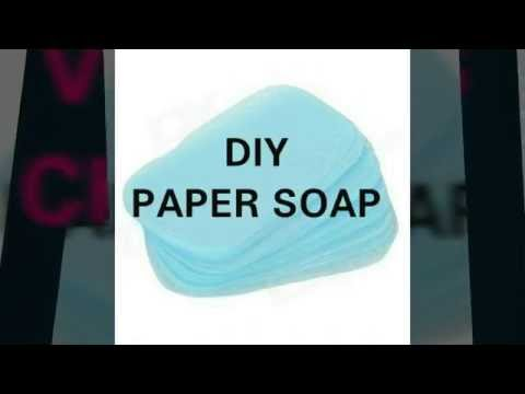 DIY Paper Soap- Viewers Choice   2016  📆