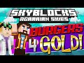 Minecraft - Hardcore Skyblock 92: BURGERS 4 GOLD (Agrarian Skies Mod Pack)