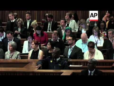 Court discusses Pistorius 'anxiety disorder'