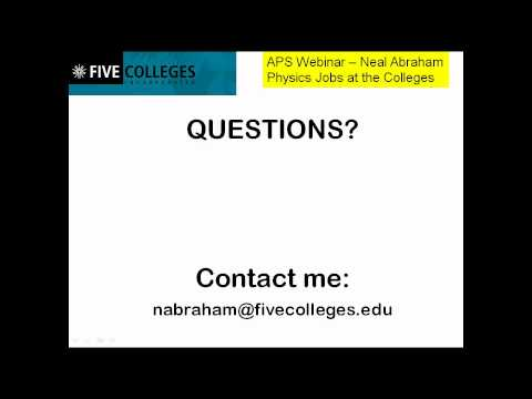 Physics Faculty Positions in Colleges