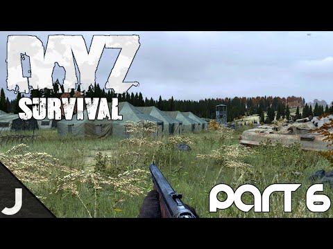 DayZ Hardcore Survival - Part 6 - NW Military!