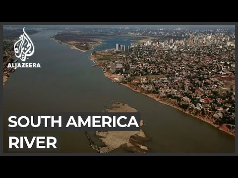 Paraguay River under severe climate threat