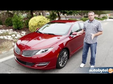 2014 Lincoln MKZ EcoBoost AWD Test Drive Video Review