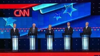 (Democratic Debate) Democratic candidates name enemies they're proud of