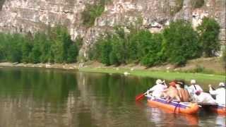 Путешествие на катамаранах по реке Ай