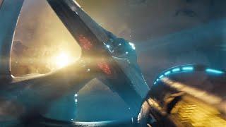Star Trek into darkness best ship clips