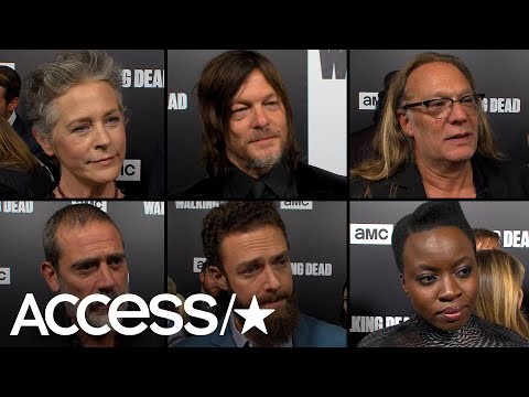 'The Walking Dead' Cast & Producers Discuss Saying Goodbye To Andrew Lincoln And We're Not Ready!