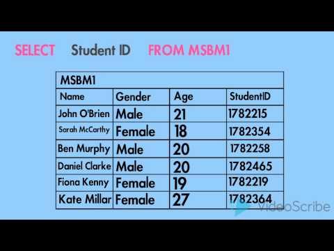 Learn RDBMS in 6 minutes!