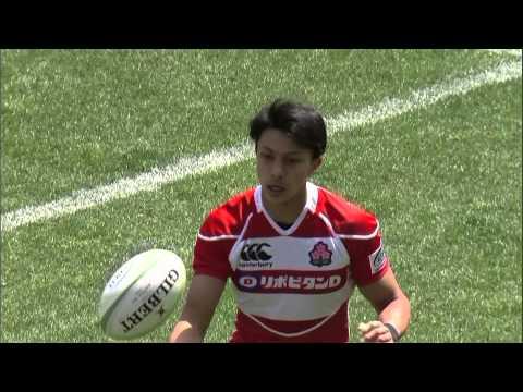 KOR v JPN Highlights - Asia Rugby Championship 2015