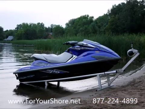 Jet Ski Lifts For Sale >> Portable Modular Drive On Pwc Jet Ski Boat Lift Port Youtube