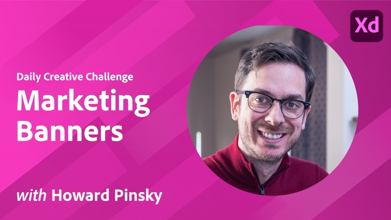 XD Daily Creative Challenge - Marketing Banners