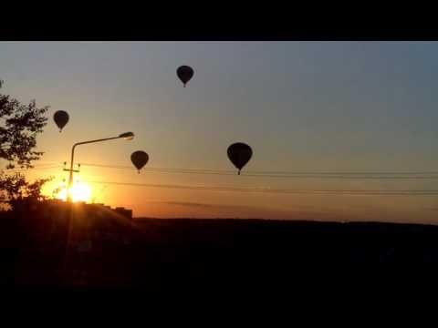 Полёт воздушных шаров в Белгороде