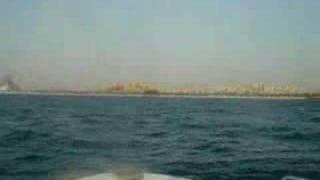 Burj al arab from the seaside